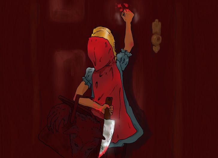 Фото №7 - Сатана, кровища и извращения: лучшие иллюстрации из журнала Nakid