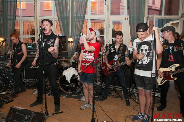 Фото №1 - MAXIM Online отметил 7-летие рок-вечеринкой