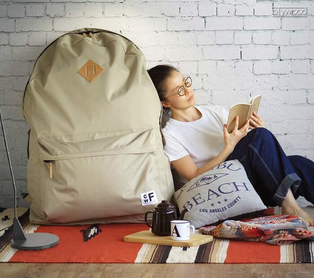 Фото №3 - В продаже появился рюкзак размером со шкаф