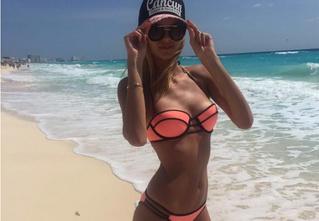 Та самая русская модель, которую выбрали для участия в парижском шоу Victoria's Secret! Гордимся!