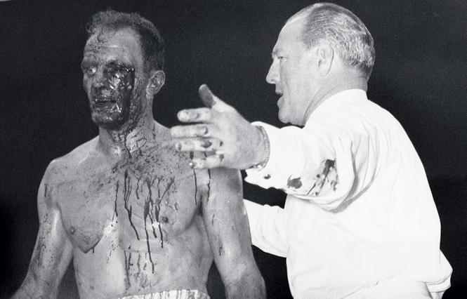 Генри Купер после боя с Али
