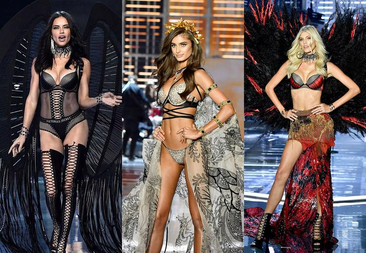 Фото №1 - Самые горячие моменты показа Victoria`s Secret 2017