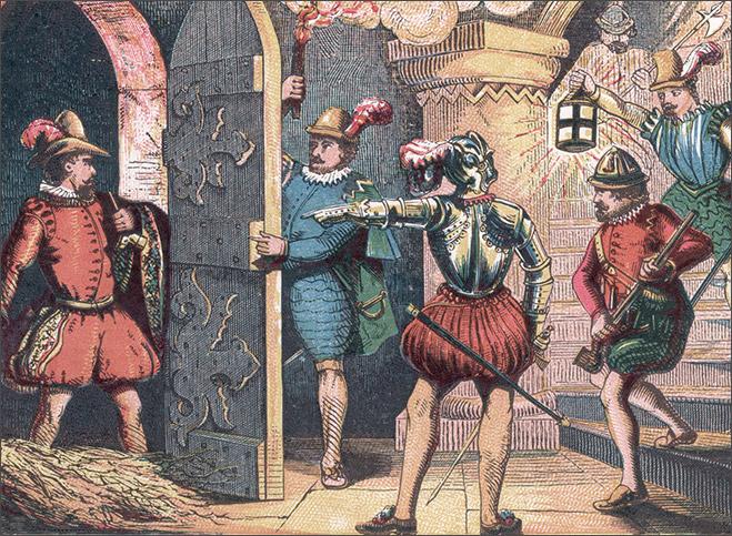 Фото №3 - XVII век Фокс представляет: взорви парламент или стань легендой, пытаясь