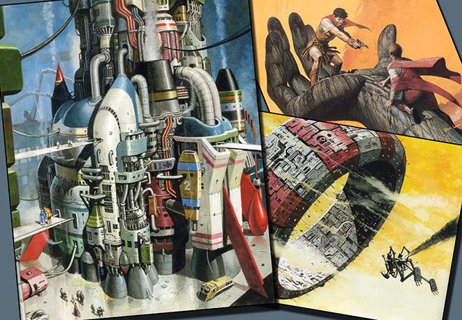 Фото №1 - Художник недели: гуру фэнтези и фантастики Дон Лоуренс