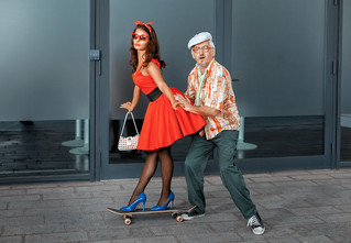 Девушка случайно сходила на свидание с 97-летним стариком!