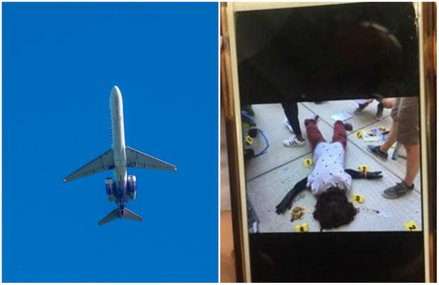 Фото №1 - Вылет самолета отложили из-за мрачной фотографии, которую получили сразу 15 пассажиров
