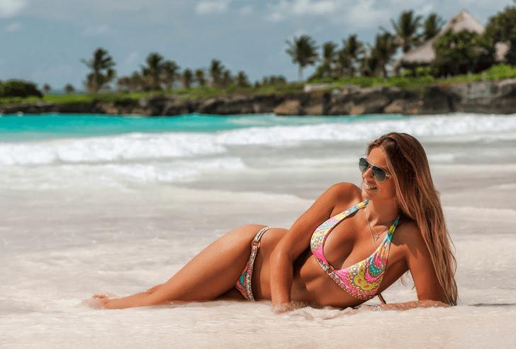 Фото №1 - Как проводит каникулы Юлия Ефимова — лучшая девушка из мира отечественного плавания?