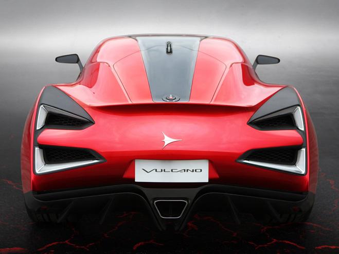 Китайский суперкар Vulcano