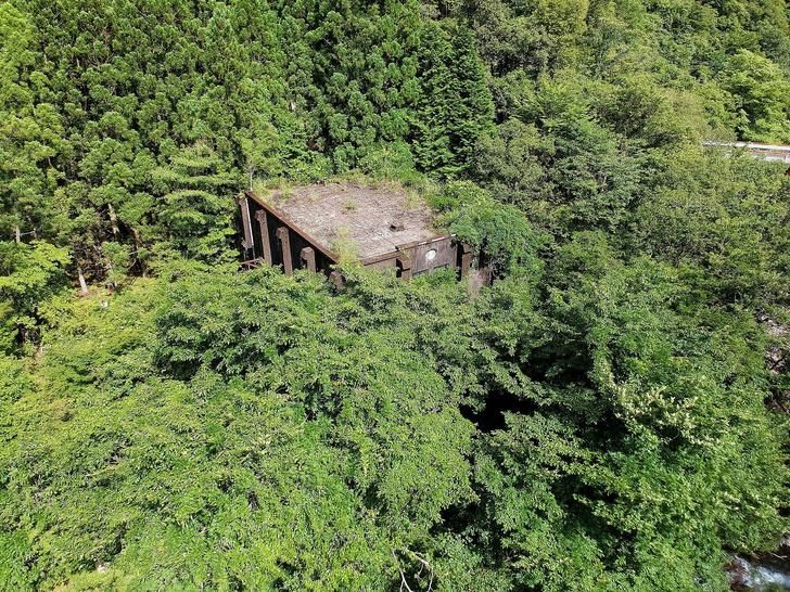Фото №1 - Заброшенная японская гидроэлектростанция (ГАЛЕРЕЯ)