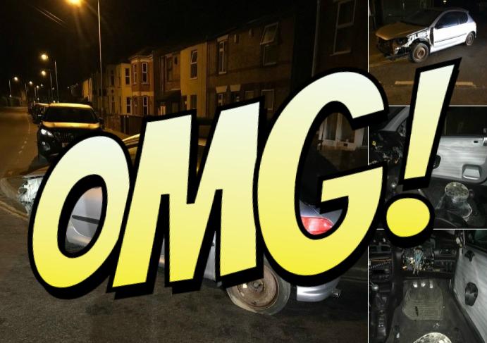 Фото №1 - Полиция остановила машину, глядь — а в ней водитель сидит на ведре и рулит плоскогубцами! (оторопелые ФОТО прилагаются)