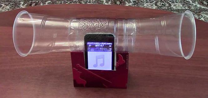 Как сделать колонки для телефона из бутылок своими руками