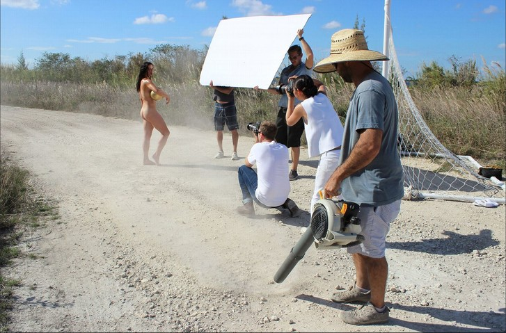 Фото №17 - А спортсменка-то голая!
