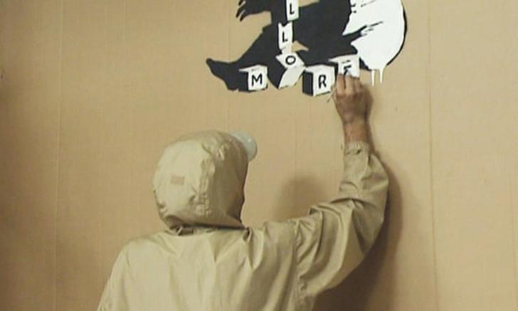 Фото №2 - Британский журналист нашел в архиве телеканала интервью с художником, который может оказаться Бэнкси (видео)