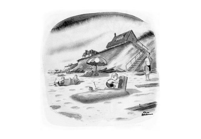 лучшие карикатуры короля черного юмора чарльза аддамса