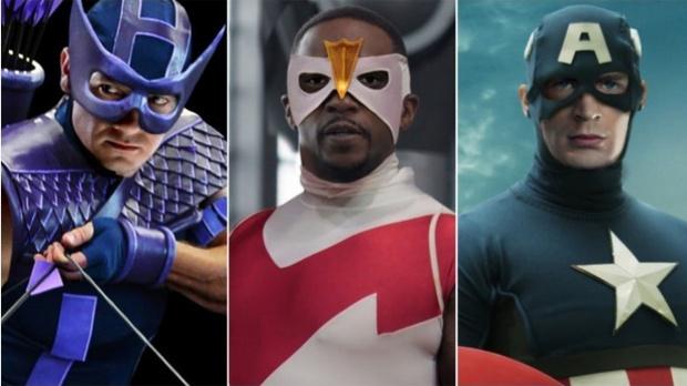 Фото №1 - Если бы супергерои в фильмах выглядели так же, как в комиксах (галерея)