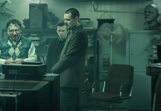 Фото №1 - Джим Керри в трейлере триллера «Настоящее преступление»!