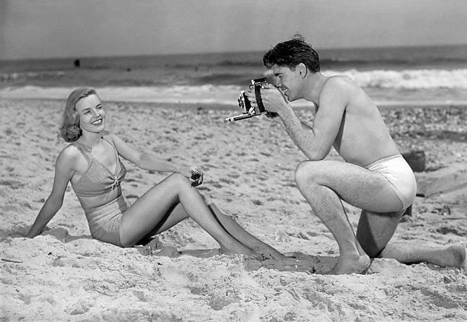 Как красиво сфотографировать девушку на пляже