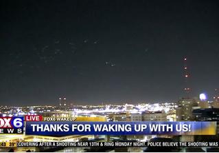 В эфире американского телеканала показали НЛО под идиотскую музыку (ВИДЕО)