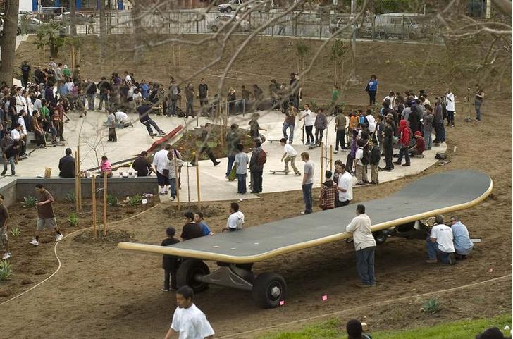 Фото №1 - Места на скейтборде хватит всем