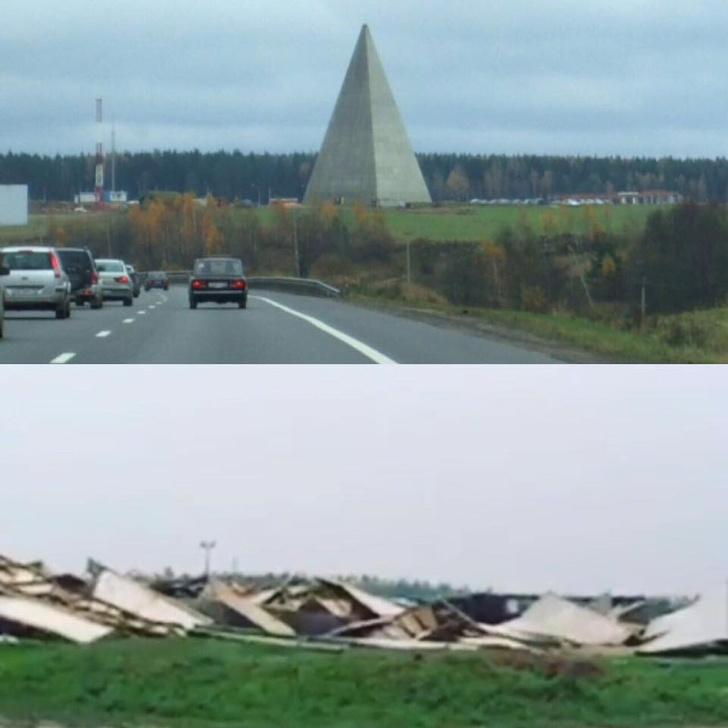 Фото №6 - Ураган в Москве: подборка самых пугающих видео и фото!