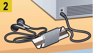 Фото №3 - Как сделать, чтобы провода не запутывались: 4 лайфхака