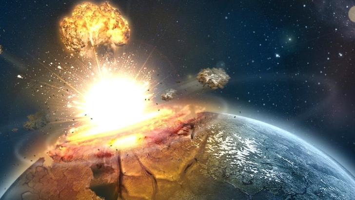 Фото №1 - На камеру удалось записать падение метеорита (ВИДЕО)