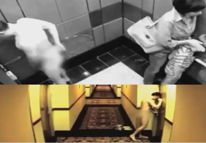 мужчина прошелся голышом отель захлопнувшейся номера