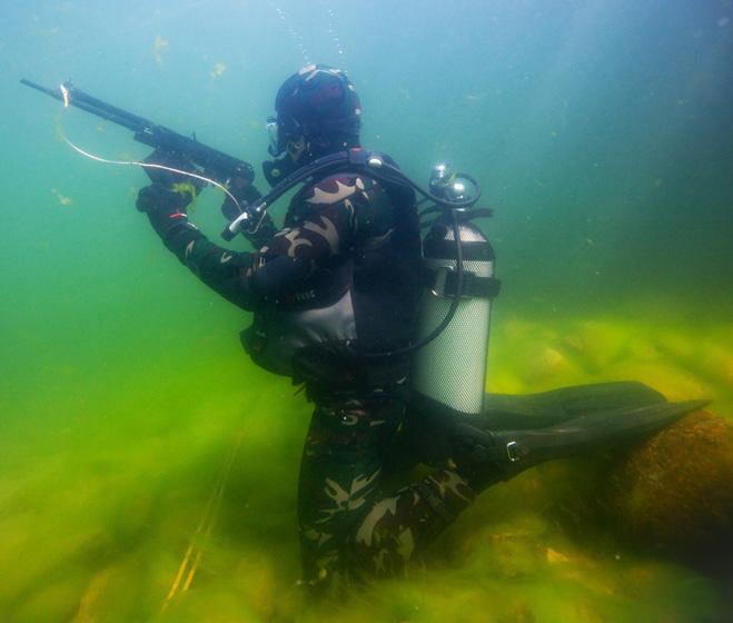 Фото №2 - Лучшие образцы огнестрельного оружия для стрельбы под водой