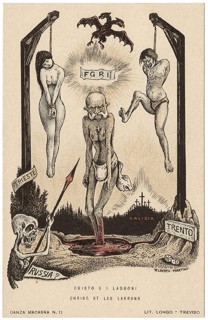 Фото №27 - Жутковатые карикатуры Первой мировой