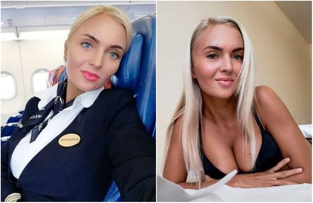 Фото №1 - Стюардесса недели: Александра Тарасова из «Аэрофлота»!