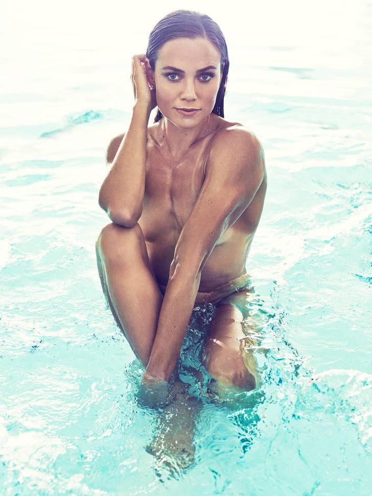 Фото №14 - А спортсменка-то голая!