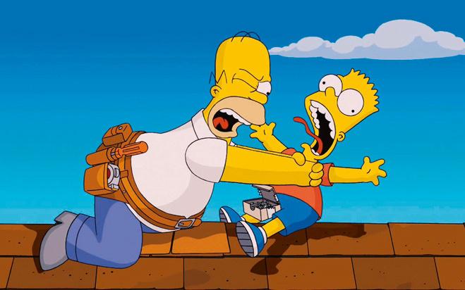 Барт и лиза занимаются сксом