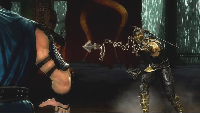 20. Kunai) - это подобное гарпуну оружие, используемое Скорпионом на протяжении всей серии игр Mortal Kombat.