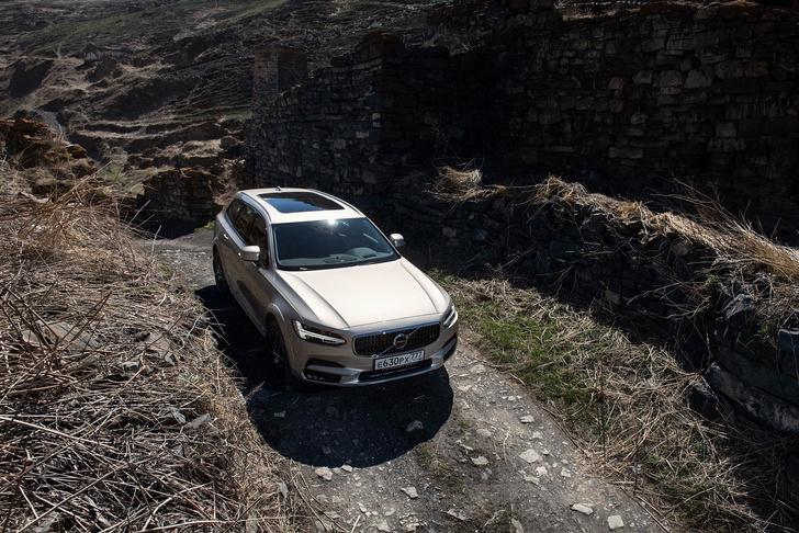 Фото №5 - Volvo V90 Cross Country: универсалы наносят ответный удар