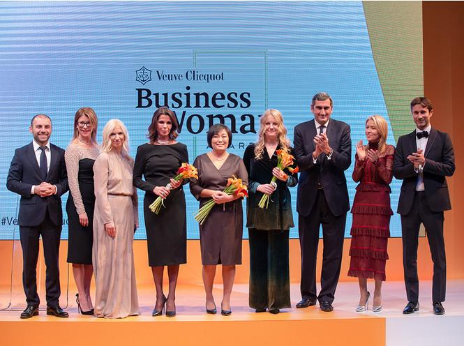 Фото №1 - Награда Veuve Clicquot Business Woman Award нашла свою бизнес-вуман!