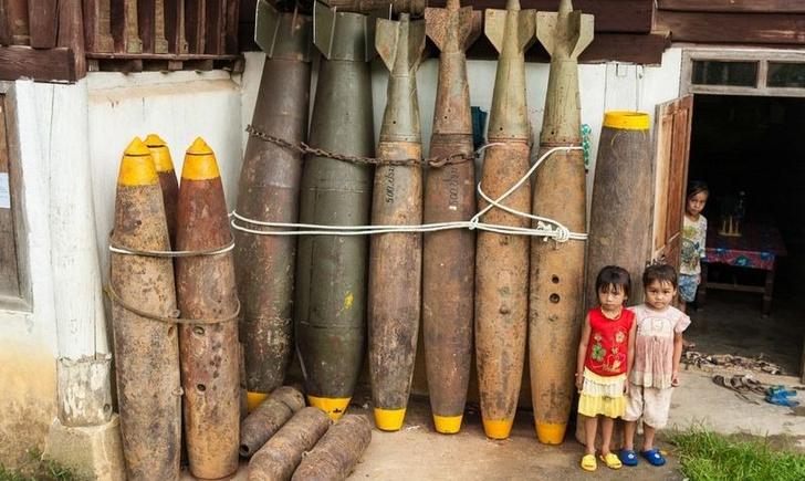 Фото №3 - Что еще можно делать с неразорвавшимися бомбами. Занимательные фотографии
