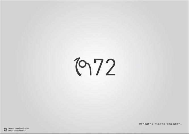 Исторические даты в минималистичных иллюстрациях