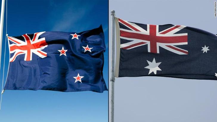 Фото №1 - Новая Зеландия обвинила Австралию в краже флага