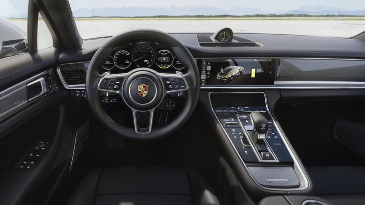 Фото №8 - Самый крутой гибрид в мире: Porsche Panamera Turbo S E-Hybrid