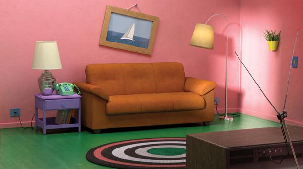 Фото №2 - IKEA детально воссоздала из своей мебели гостиные из культовых мультиков и сериалов (фото)