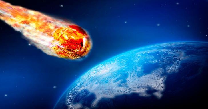 Фото №1 - Что будет, если гигантский метеорит врежется в Землю (видео от ученых)
