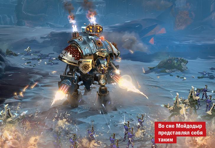 Фото №1 - Если хилый — сразу орк! Warhammer 40.000: Dawn of War III и другие главные игры июня