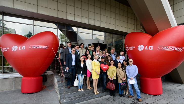 Фото №1 - 60 акций со дня революции в донорстве!