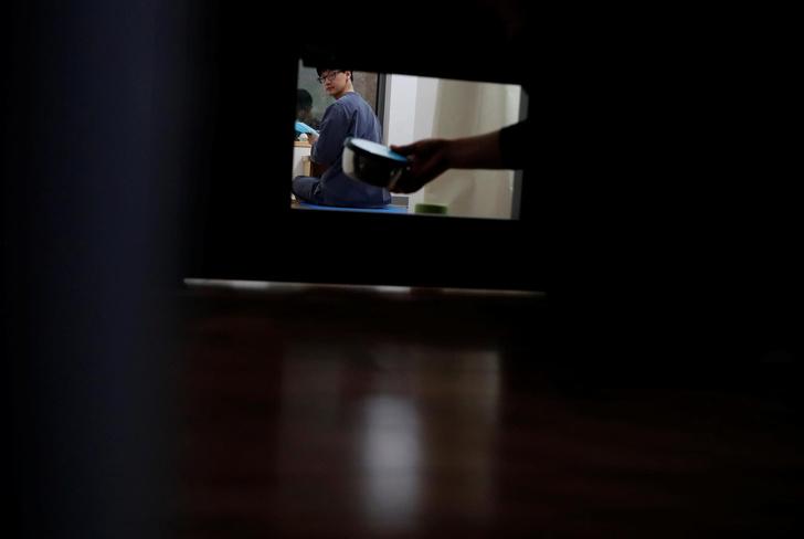 Фото №1 - «Тюремная терапия»: южнокорейцы сами «сажают» себя, чтобы отдохнуть от работы (галерея)