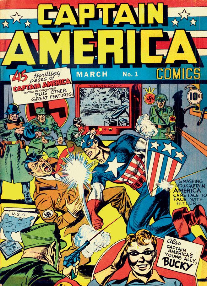 Captain America Comics №1