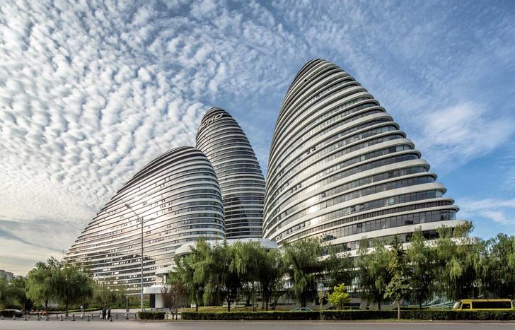 Небоскребы Wangjing Soho