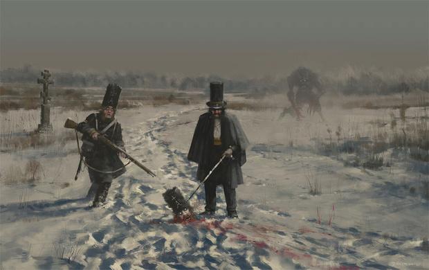 Фото №10 - Зловещая стимпанковская живопись с элементами славянского быта