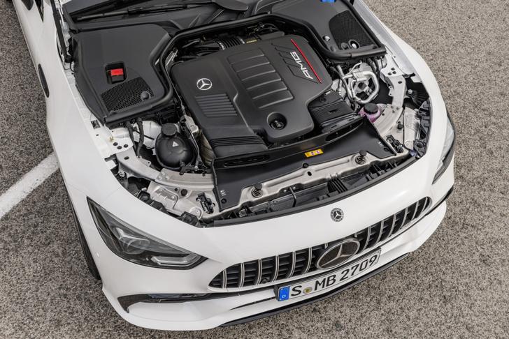 Фото №7 - Mercedes-AMG представляет ошеломительно быстрый гран-туризмо GT 4‑Door Coupe