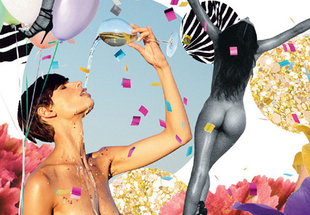 Фото №1 - Календарь о вине и женской красоте от японской художницы