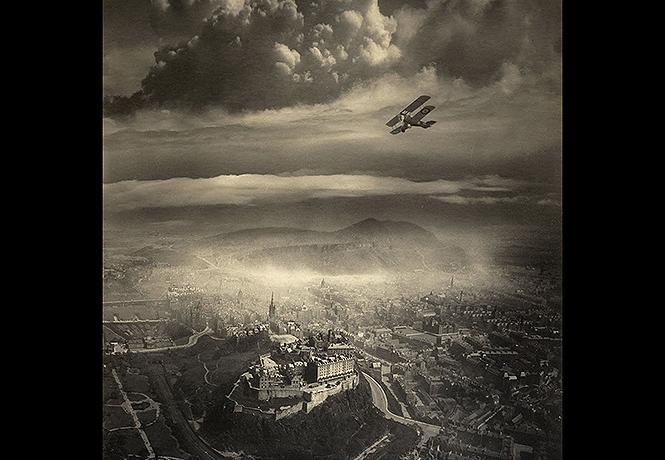 Фото №1 - Редчайшие авиафотографии 20-х годов прошлого века
